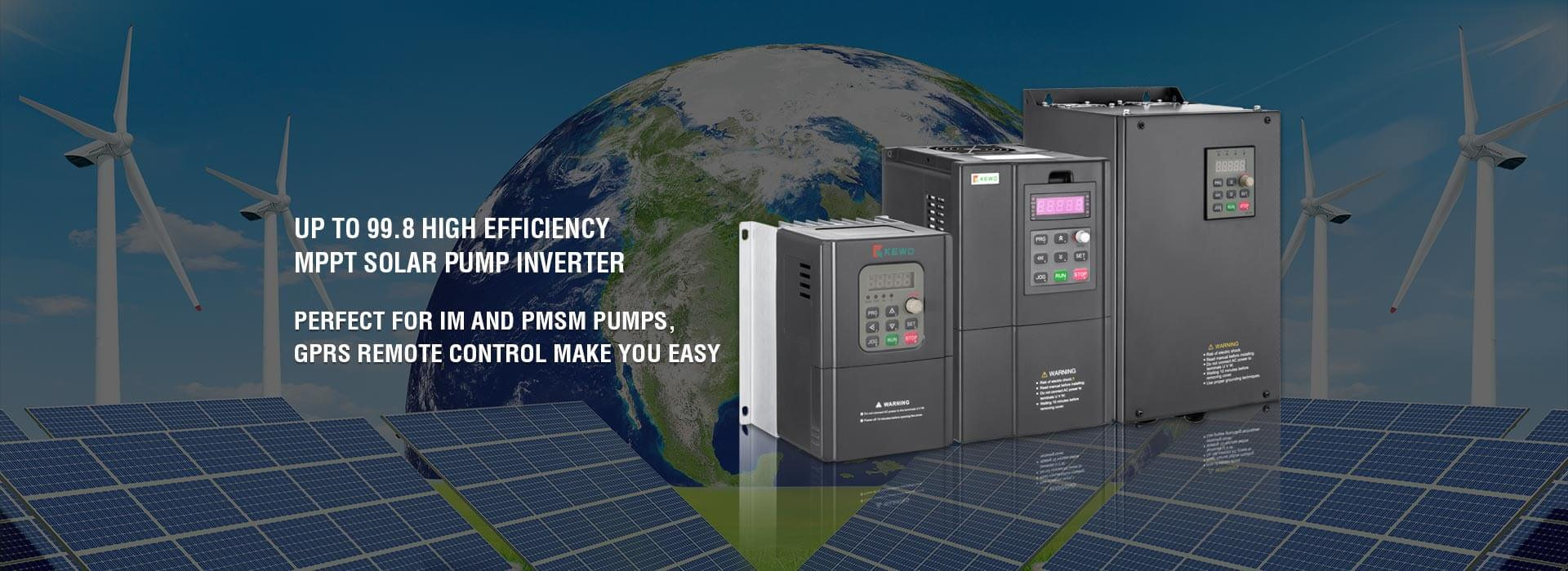 Solar pump inverter Factory