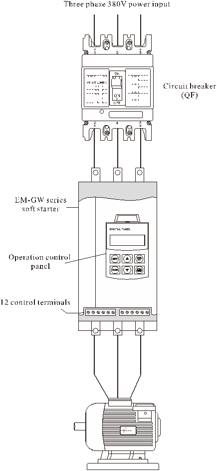 ST200 online soft starter