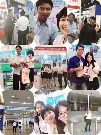 Shenzhen KEWO Attended SEAN SUSTAINABLE ENERGY WEEK Exhibition at Bangkok, Thailand