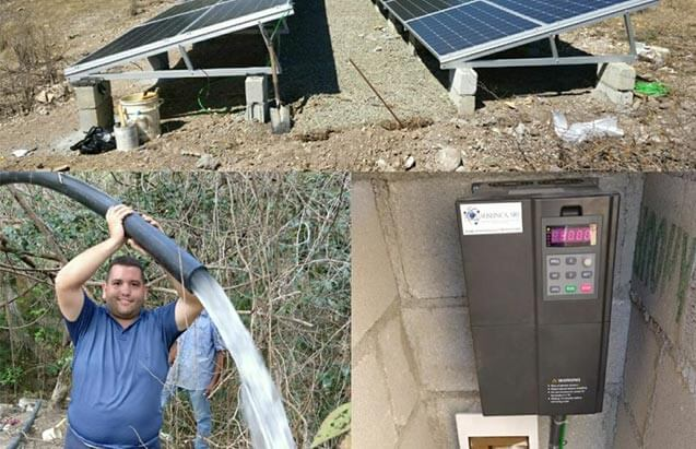 Solar pump inverter Application