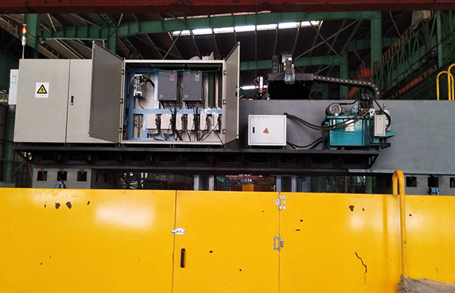 VFD in Gantry Milling Machine