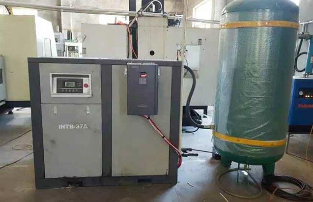 VFD in Spinning Frame / Air Compressor