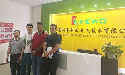 In April 2018, Thanks to Iranian customers for visiting our KEWO factory and discussing cooperation